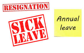 FAQ - Can a period of annual leave form part of a notice period?