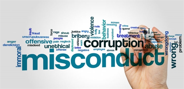 Misconduct Definitions