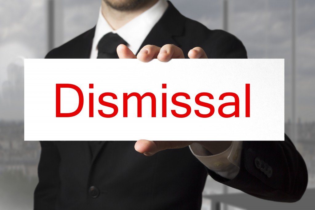 Dismissal Undone by Lack of Process